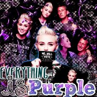 Everything Is Purple Blend by Melchulittlegirl