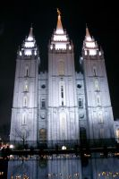 Salt Lake Temple by thegreatdanno