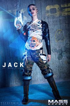 Jack - Mass Effect 3 cosplay by ThelemaTherion