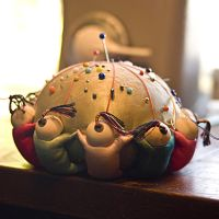 CHINESE PIN CUSHION by CorazondeDios