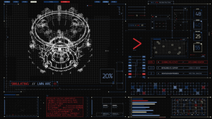 James Bond 007 Skyfall FUI by TheZeis