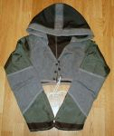 Reversible Hoodie Shrug 1 by RedheadThePirate
