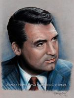 Cary Grant by Lillian-Bann