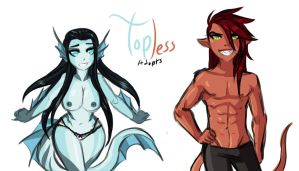 Topless Adopts 7 -CLOSED- by Ask-Evin