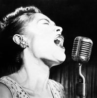 Billie Holiday by Nathalief87