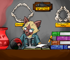 Glydes Laboratory by DarkmaneTheWerewolf