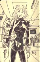 Moleskine madness- Black Widow by tZuB