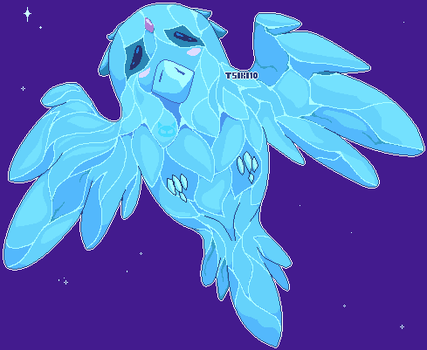 ON MY WINGS! [Anivia the Cryophoenix] by Tsiki10