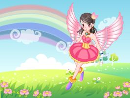Wonderland Fairy Princess by alyson34567