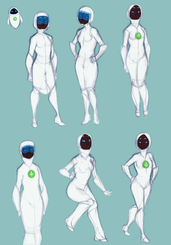 Human Eve concepts by Raksha6942