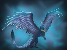 New character(no name and lost the file) :P by Glade-the-Dragoness