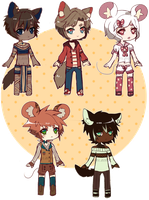 Cheeb Adopt Batch Set Price 1 LEFT (OPEN) by Belzoot