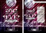 2012 New Year's Eve Party Template by tinachang89
