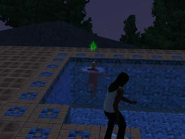 SIMS 3: Another Prank in the Mist by Aubergine-Jeri