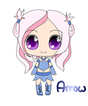 Arrow - Kawaii Chibi by fireflyinnocence