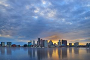 Boston Sunset by ashamandour