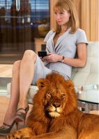 Pepper Potts and Her Daemon by LJ-Todd