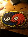 Sonic and Knuckles Logo by 8bitsofawesome