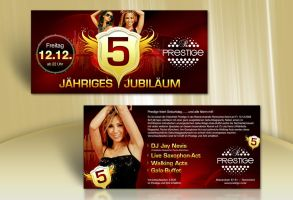 5 Years Party Flyer by kejdi