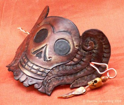 Winged Death's Head - 2 by phee-adornments