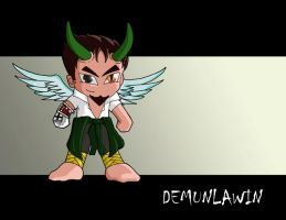 Winged demun... by xtianity