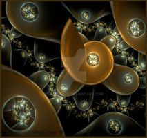 Escher's Escargot by bast4cats