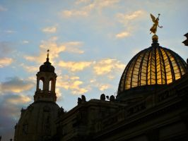Dresden sky by Taihe