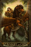 The Knight of Cups by feliciacano