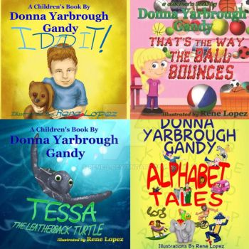 Donna's chidren book covers by Rene-L