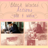Black Winter Actions - Old and Worn by blackxwinter