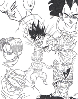 DragonBall Z by PiletX