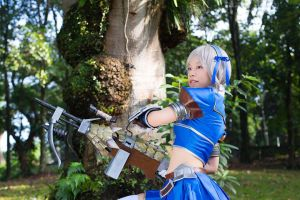 Monster Hunter Frontier - Azul Gunner by Ashed-Dreams
