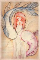 Piscis manger ames by madewithsadness