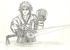 Tidus from FFX by Jamz671