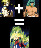 Laxus + Orga = Broly by SuperAndroid18-z-af