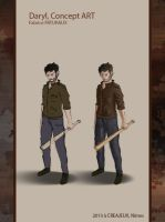 Daryl concept art 01 by ROS-Fabrice