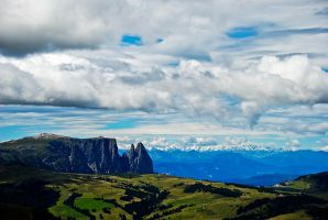 sound of solitude in Dolomites by tolgagonulluleroglu