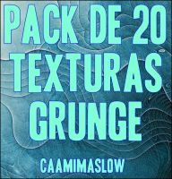 Pack de Texturas Grunge (2) by CaamiMaslow