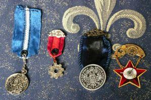 Medals, First Try by aequinox