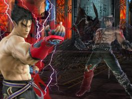 Jin Kazama Desktoppy by Kyrelamyl