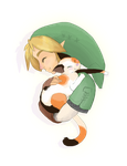 When Link Holds Cats... by briteddy