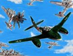 Me-262 Jet Fighter by Taipu556