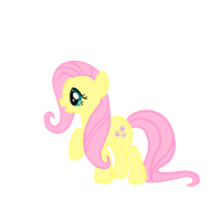 Fluttershy by Snowdrop-the-Kitty
