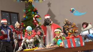 Merry Christmas, Overwatch! by DarknessRingoGallery