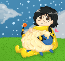 I love my Mareep by Invader-SiCkNeSs