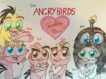 The Angry Birds Valentine Show by RussellMimeLover2009