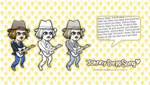 Musician Johnny Deep by amoykid