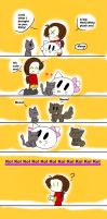 Kitties are love p.3 by chibi-hikaru