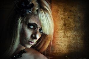 skull zombie mix by rlitwinphoto