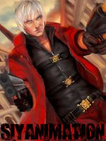 Dante Devil May Cry 4 by kamillyonsiya